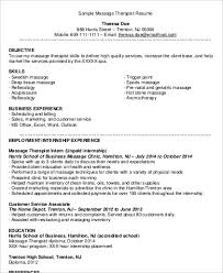 massage therapist resume examples licensed massage therapist