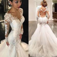 bridal dresses new arrival mermaid wedding dresses bridal gown with appliques