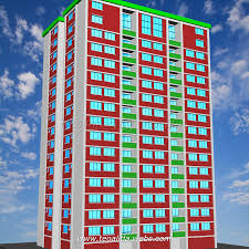 architecture housing design teoalida website rectangle tower floor