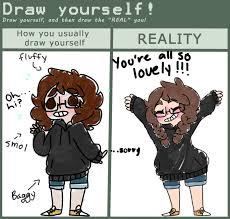 Art Owl Meme - draw yourself meme by owl mom on deviantart