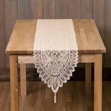 table linen runner table runners for home kitchen and dining room