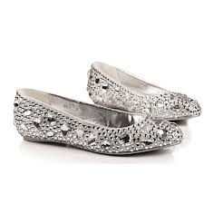 silver flat wedding shoes glitter ballet flats for wedding formal comfortable flats