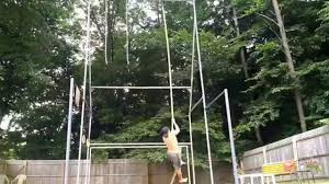 Diy Backyard Pull Up Bar by Extreme Outdoor Bodyweight Workout Backyard Gym Youtube