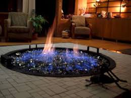 Fire Pit With Water Feature - fire pit fire glass fireglass fireplace glass fireplace