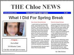 9 best images of create my own newspaper template create your