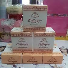 Sabun Vitamin E exif collagen plus vit e sabun muka krim malam dan krim siang