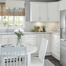 gray kitchen cabinets with white crown molding hton bay 2 75x96 in crown moulding in white cm9703m wh