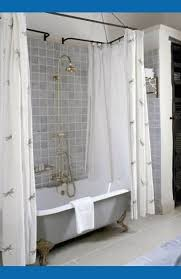 the most best 25 clawfoot tub shower ideas on pinterest throughout