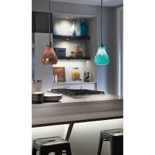 Kichler Lighting Kitchen Lighting by Kichler Lighting Crystal Ball Brushed Nickel Mini Pendant Light