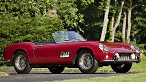 Ferrari California 2012 - 1960 ferrari california sells for over 11m at pebble beach