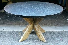 zinc table tops for sale zinc table tops for sale zinc table tops top round dining with x