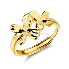 new design ladies gold finger ring design for women with price
