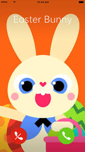 easter easter bunny call easter bunny on the app store
