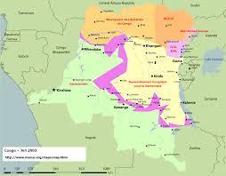 Republic Of Congo Map Kinshasa Map