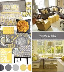 home decor beautiful yellow and grey bedroom on arrangement