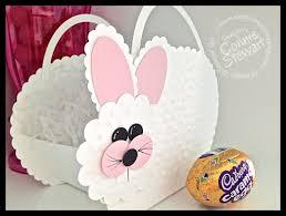 bunny basket big bunny basket punch simply simple sting