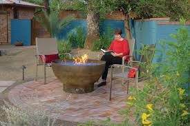 Old Fire Pit - fire pit is a recycled propane tank upcycled