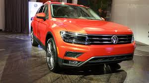 volkswagen orange 2018 volkswagen tiguan design workshop at the 2017 chicago auto