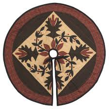 brown christmas tree skirt christmas tree skirts country quilts by choice quilts