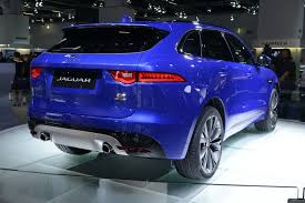jaguar f pace black jaguar u0027s f pace demonstrates that an suv can look good