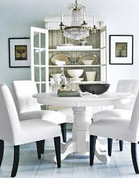 White Dining Room Chairs With Bccbcdfeaaf - All white dining room