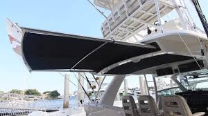 Sailboat Awning Sunshade Boston Whaler 420 Outrage 2015 Boston Whaler Powered By