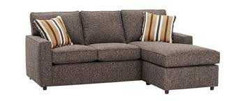 Apartment Sectional Sofas Apartment Size Track Arm Reversible Chaise Sectional Sofa
