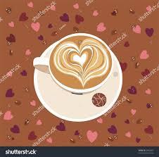 cafe latte cafe latte stock vector 23863807 shutterstock