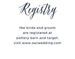wedding wish list registry customizable wedding registry cards by basic invite