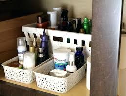 bathroom cabinet organizer ideas large size of smart storage over