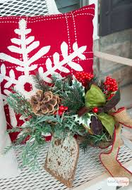 vintage inspired christmas porch decorations atta says