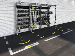 design gym rax u0026 trx storage and suspension training