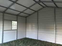 Garage With Carport Metal U0026 Steel Garages For Sale Custom Buildings Workshops
