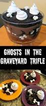 ghosts in the graveyard trifle white chocolate chocolate and