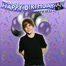 Justin Bieber Happy Birthday Meme - imagine a world without the biebs it s not good and purple