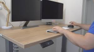 Schreibtisch Elektrisch Elektrisch Höhenverstellbarer Schreibtisch Dorsalo Xbhm Im Test