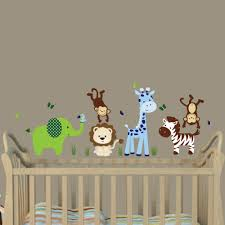 Elephant Wall Decal For Nursery by Giraffe And Elephant Wall Decals Home Design Ideas