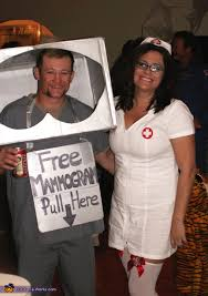 Nurse Halloween Costume Mammogram Machine Nurse Couple Costume Mammogram Machine