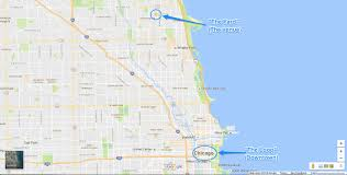 Chicago On A Map by Chicago Il Annie U0026 Jonah