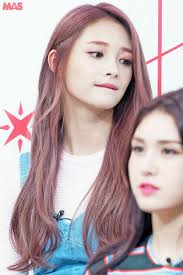 popular kpop hair colours pin by isabella bella on pristin ioi nayoung pinky