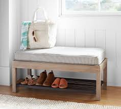 Pottery Barn Entryway Bench And Shelf Lucy Entry Collection Shoe Bench Pottery Barn