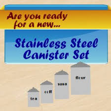 stainless steel canister sets kitchen 12 best stainless steel canister set images on