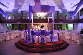 furniture build a winter wedding reception decoration