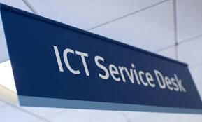 service desk contact the ict service desk administration and support services
