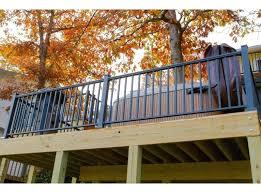 balcony railing covers contractor deck railing aluminum post base