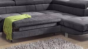 sofa sitztiefe verstellbar carrier wohnlandschaft sofa anthrazit bettfunktion