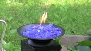 dragon fire pit glass mulch fire pit youtube