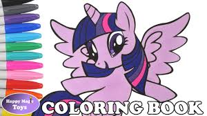 mlp princess twilight sparkle coloring book pages my little pony