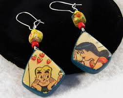 archies earrings riverdale high etsy