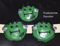 frankenstein halloween cupcakes how to decorate youtube